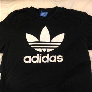 Black Adidas Logo T-Shirt